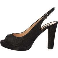 Schuhe Damen Sandalen / Sandaletten Silvana 452 BLACK