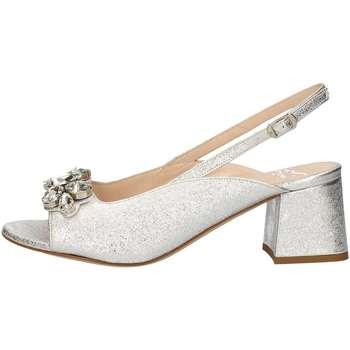 Schuhe Damen Sandalen / Sandaletten Musella 018375 Sandale Frau Silber Silber
