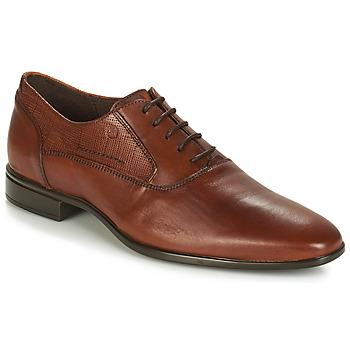 Schuhe Herren Richelieu Carlington JIPINO Cognac