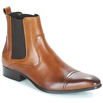 Schuhe Herren Boots Carlington ERINZI Cognac