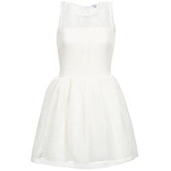 Kleidung Damen Kurze Kleider Brigitte Bardot AGNES Weiss