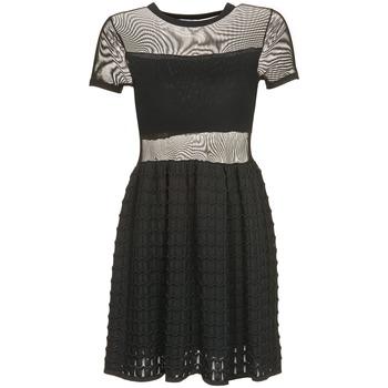 Kleidung Damen Kurze Kleider Brigitte Bardot ALBERTINE Schwarz