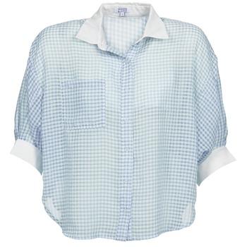 Kleidung Damen Hemden Brigitte Bardot AMARANTE Blau / Weiss