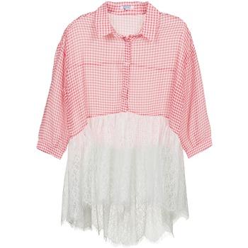 Kleidung Damen Hemden Brigitte Bardot AMBRE Rot / Weiss