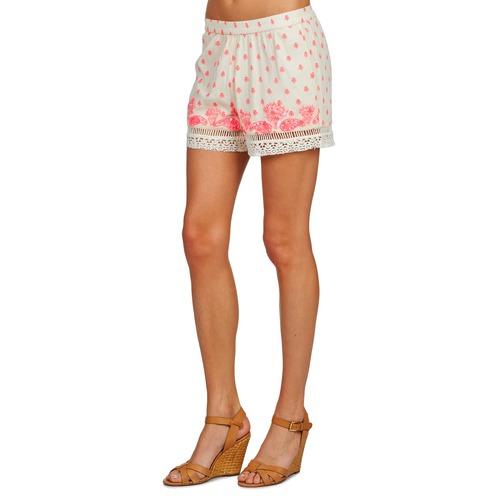 Brigitte Bardot Angeline Naturfarben - Kostenloser Versand | Kleidung Shorts / Bermudas Damen 10584