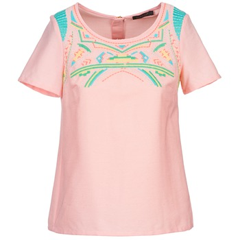 Kleidung Damen Tops / Blusen Color Block ADRIANA Rose