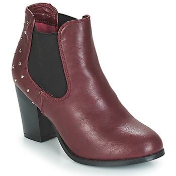 Schuhe Damen Low Boots Moony Mood JURDEAN Bordeaux