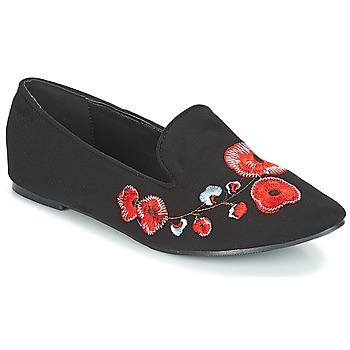 Schuhe Damen Slipper Moony Mood JASMINY Schwarz
