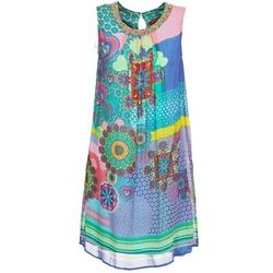 Kleidung Damen Kurze Kleider Derhy BARDE Blau / Grün / Multifarben