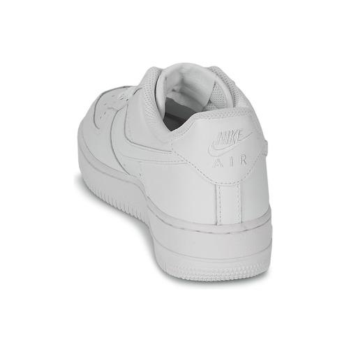 Nike Schuhe AIR FORCE 1 07 LEATHER W Weiss  Schuhe Nike Sneaker Low Damen 98,99 4b6e8f