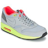 Schuhe Herren Sneaker Low Nike AIR MAX 1 FB Grau / Grün / Korallenrot
