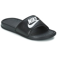 Schuhe Herren Pantoletten Nike BENASSI JUST DO IT Schwarz