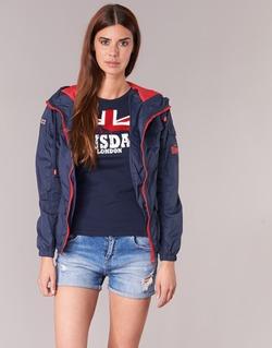 Kleidung Damen Jacken Lonsdale GLOUCHESTER Marine