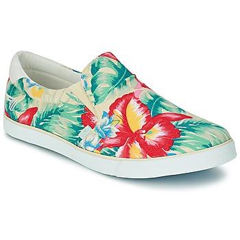 Schuhe Damen Slip on Gola DELTA HIBISCUS Naturfarben / Multifarben