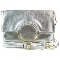 Taschen Umhängetaschen Vera Pelle VPX121ARG Silber