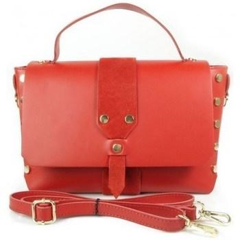 Taschen Damen Handtasche Vera Pelle VPK789R Rot