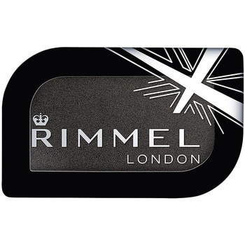 Beauty Damen Lidschatten Rimmel London Magnif'Eyes Mono Eye Shadow 014 -black Fender 3,5 g