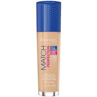 Beauty Damen Make-up & Foundation  Rimmel London Match Perfection Foundation 200 -soft Beige  30 m
