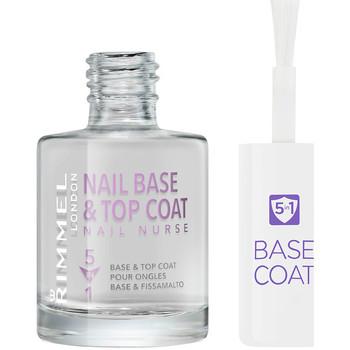 Beauty Damen Nagellack Rimmel London Nail Nurse Care Base & Top Coat 5en1  12 ml
