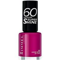 Beauty Damen Nagellack Rimmel London 60 Seconds Super Shine 335-gimme Some Of That 8 ml