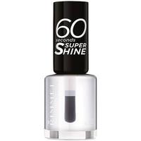 Beauty Damen Nagellack Rimmel London 60 Seconds Super Shine 740-clear 8 ml