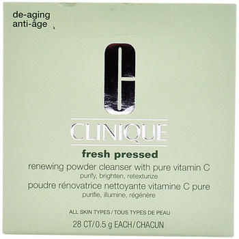 Beauty Damen Gesichtsreiniger  Clinique Fresh Pressed Renewing Powder Cleanser 28 X 0,5 Gr 28 x 0,5 g