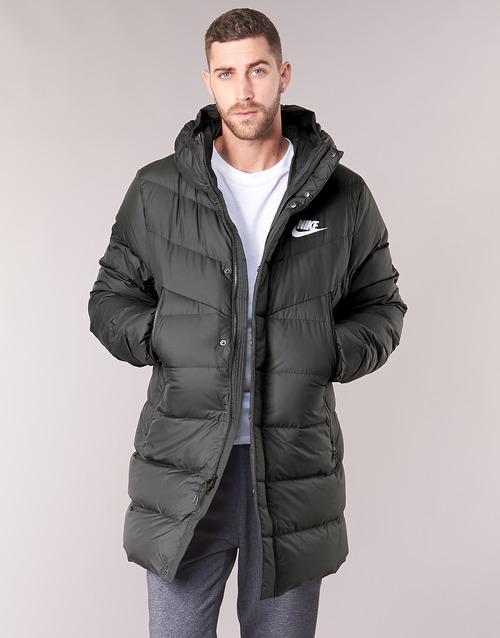 Kleidung Herren Daunenjacken Nike BRENLA Schwarz