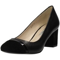 Schuhe Damen Pumps Luciano Barachini 3012d Decollete Schwarz