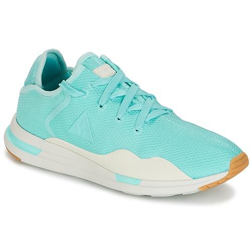 Le Coq Sportif SOLAS W SUMMER FLAVOR Blau Schuhe Sneaker Low Damen 40