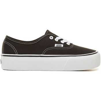 Schuhe Damen Sneaker Low Vans ZAPATILLAS  AUTHENTIC PLATFOR Schwarz