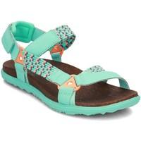 Schuhe Damen Sandalen / Sandaletten Merrell Around Town Sunvue Woven Grün