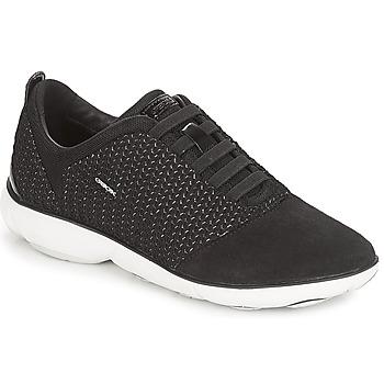 Schuhe Damen Sneaker Low Geox D NEBULA Schwarz