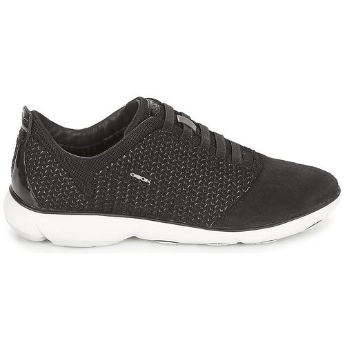 Geox D NEBULA Schwarz  103,20 Schuhe Sneaker Low Damen 103,20  daf212