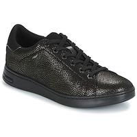 Schuhe Damen Sneaker Low Geox D JAYSEN Grau / Schwarz