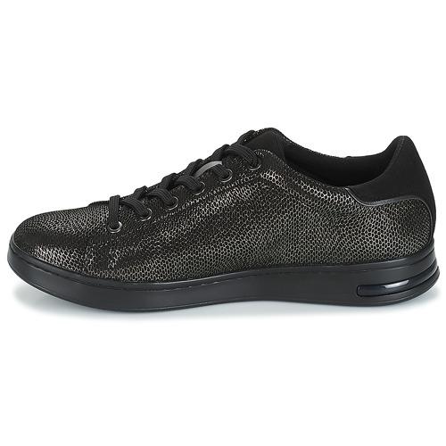 Geox D D D JAYSEN Grau / Schwarz  Schuhe Sneaker Low Damen 7a8285
