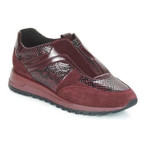 Geox D TABELYA Bordeaux  Schuhe Sneaker Low Damen