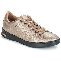 Schuhe Damen Sneaker Low Geox D JAYSEN Beige