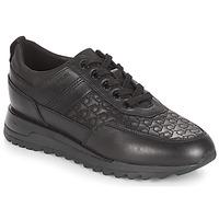 Schuhe Damen Sneaker Low Geox D TABELYA Schwarz