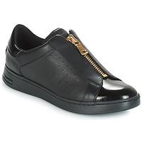 Schuhe Damen Sneaker Low Geox D JAYSEN Schwarz