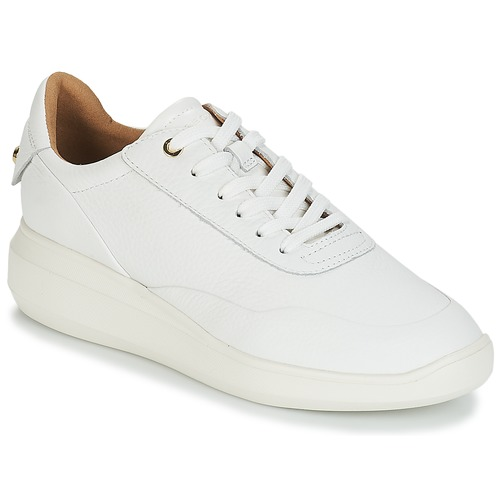 Geox D RUBIDIA Weiss  Schuhe Sneaker Low Damen 119