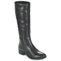 Schuhe Damen Klassische Stiefel Geox D FELICITY Schwarz