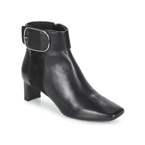 Geox D VIVYANNE MID Schwarz  Schuhe Low Boots Damen 165