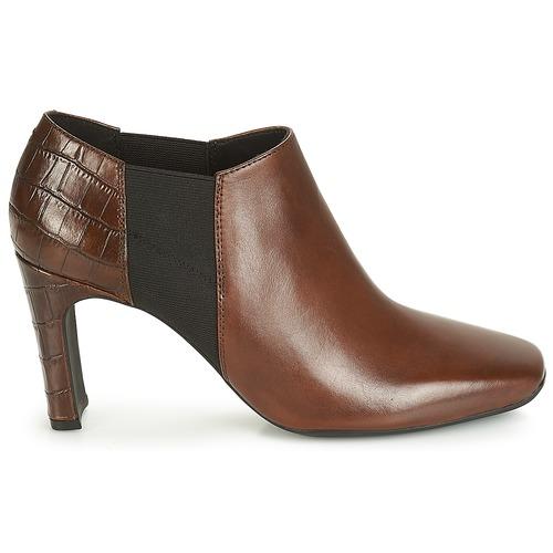 Geox D VIVYANNE HIGH Braun  Schuhe Schuhe Schuhe Ankle Boots Damen 400388