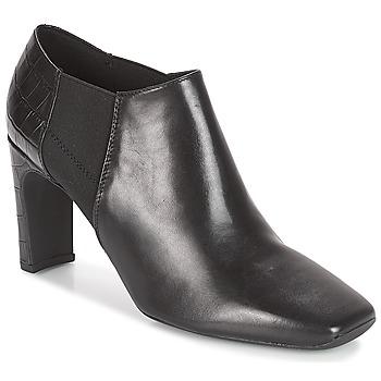 Schuhe Damen Ankle Boots Geox D VIVYANNE HIGH Schwarz