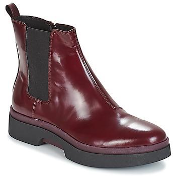 Schuhe Damen Boots Geox D MYLUSE Bordeaux