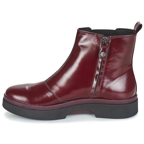Geox D MYLUSE Bordeaux  124 Schuhe Boots Damen 124  4bef99
