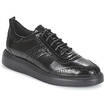 Schuhe Damen Derby-Schuhe Geox D THYMAR Schwarz