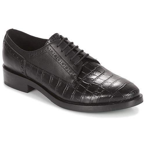 Geox Damens BROGUE Schwarz  Schuhe Derby-Schuhe Damen 121,50