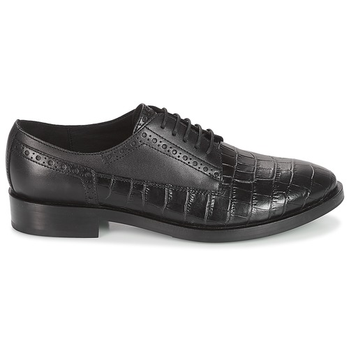 Geox Schwarz DONNA BROGUE Schwarz Geox  Schuhe Derby-Schuhe Damen 135 3b756e