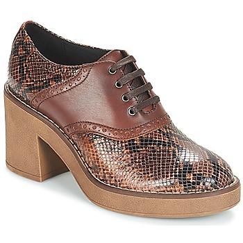 Schuhe Damen Ankle Boots Geox D ADRYA MID Braun